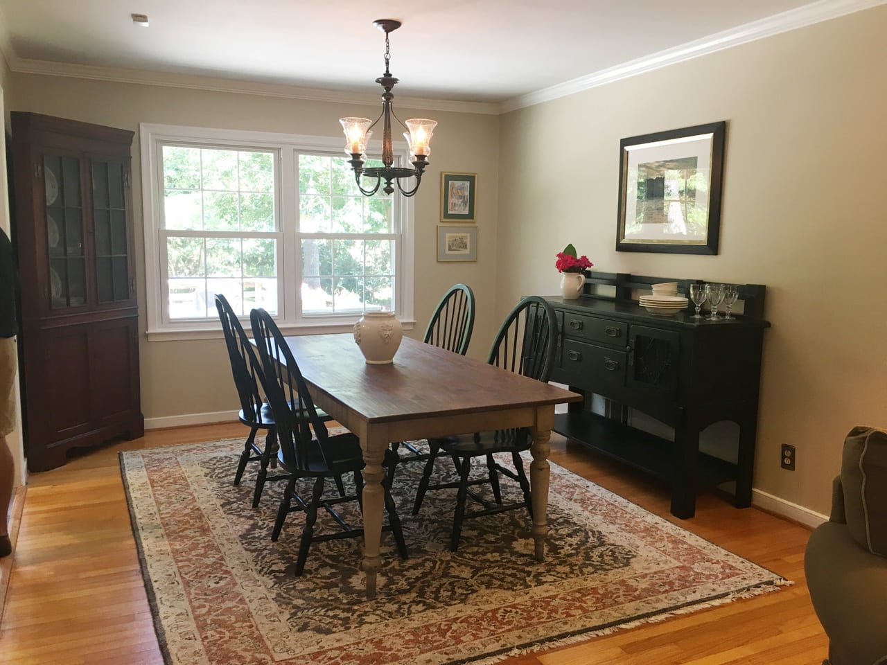 Model home staged by Decorum Staging and Redesign