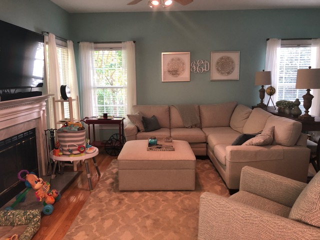 before of family room